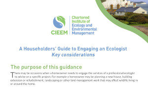 A Householders Guide to Engaging an Ecologist